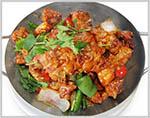 Chicken with Fresh Mushroom 🌶