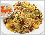 Duck with Pineapple Fried Rice