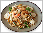 Seafood Fried Rice Noodle