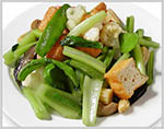 Stir fired Mix Vegetables and Tofu